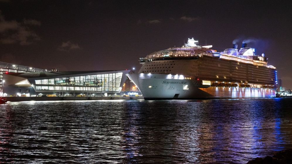 Foto: Un crucero llega al puerto de Miami. (EFE)