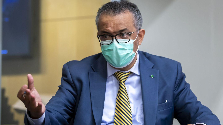 El director general de la OMS, Tedros Adhanom Ghebreyesus. (Reuters)