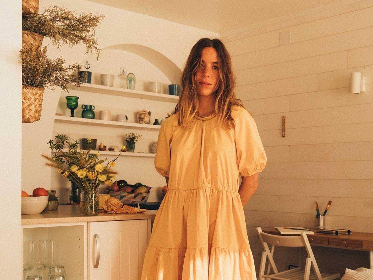 Foto: El vestido de Mango. (Instagram @frecklesnur)