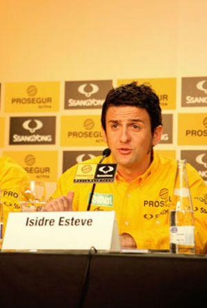 El piloto español Isidre Esteve vuelve a la alta competición
