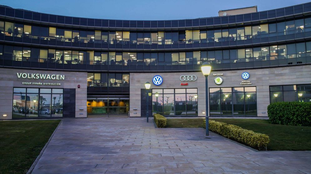 Foto: Sede de Volkswagen Group España Distribución