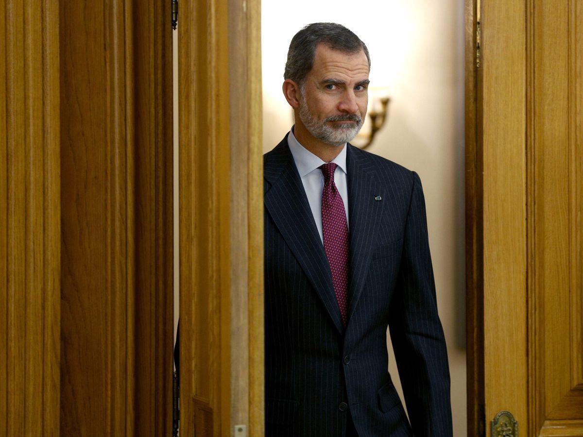 Foto: Hablemos de la barba del rey Felipe y todo lo que puede estar haciendo para cuidarla. (EFE)
