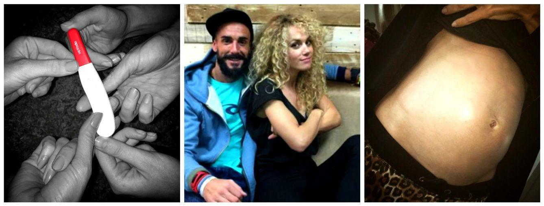 Foto: Azahara y Juanma, embarazados