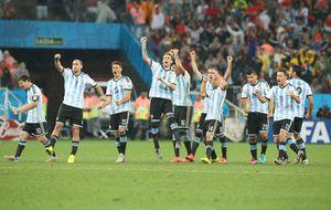 Argentina sólo pudo ganar a Holanda en los penaltis