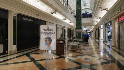 Cataluña reabre sus centros comerciales, pero seguirán cerrados el fin de semana