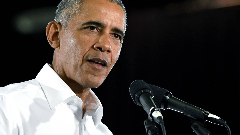 Barack Obama, en una conferencia en Las Vegas. (Getty)