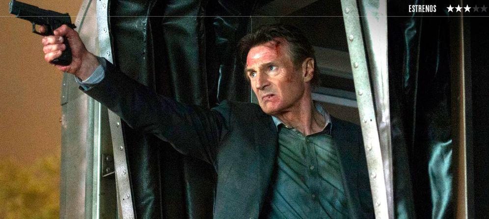 Foto: Sigue el 'bromance' de Jaume Collet-Serra y Liam Neeson en 'El pasajero', su cuarta colaboración. (TriPictures)