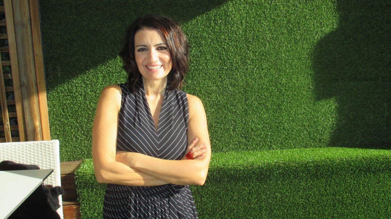 Foto: Silvia Abril durante la entrevista (Foto: Carlos Luengo)