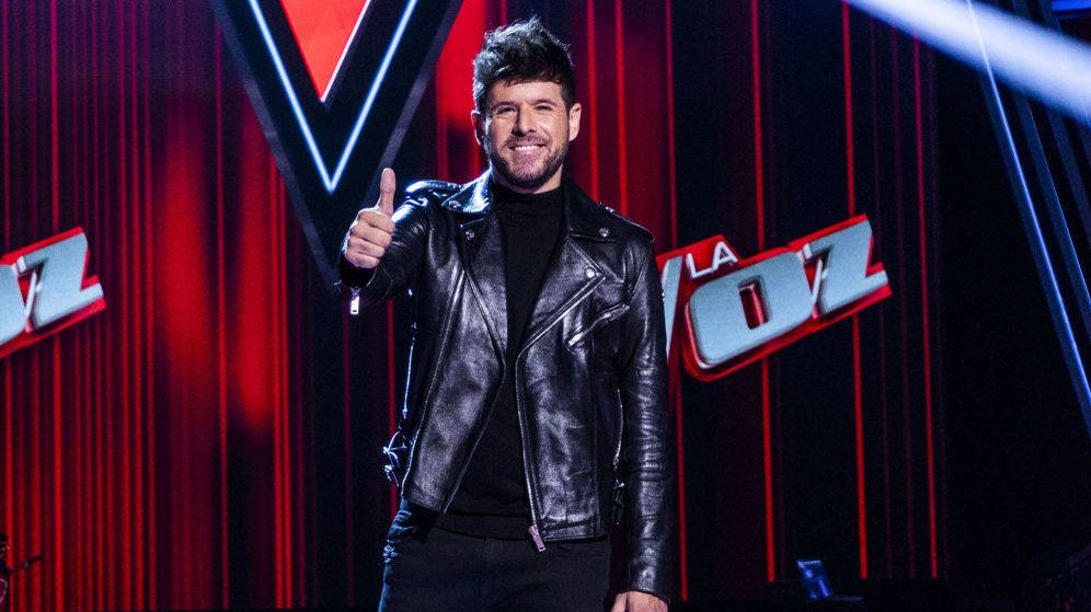 Foto: Pablo López, coach de 'La Voz'. (Antena 3)