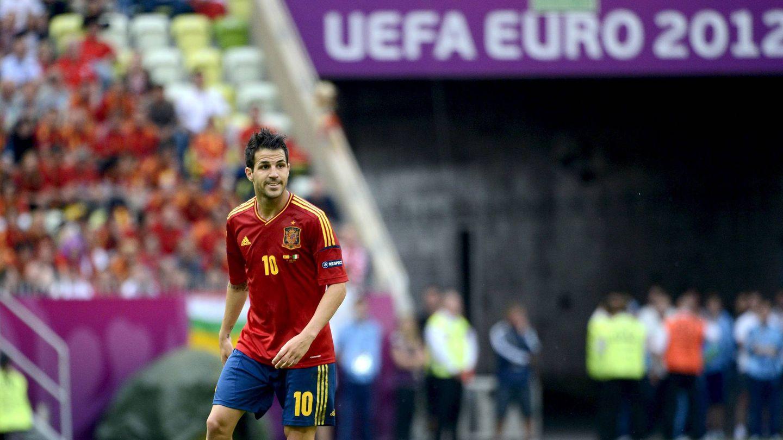 Cesc Fábregas, en un partido de la Euro 2012. (EFE)
