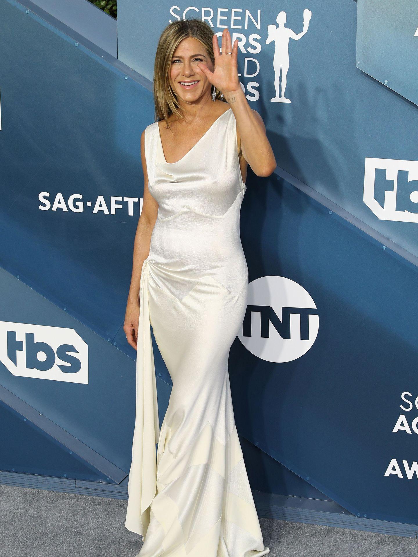 Jennifer Aniston, en enero de 2020. (EFE)