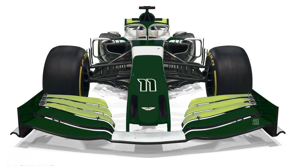 Foto: Así luciría Aston Martin de regresar como equipo a al Fórmula 1, según RaceFans.net
