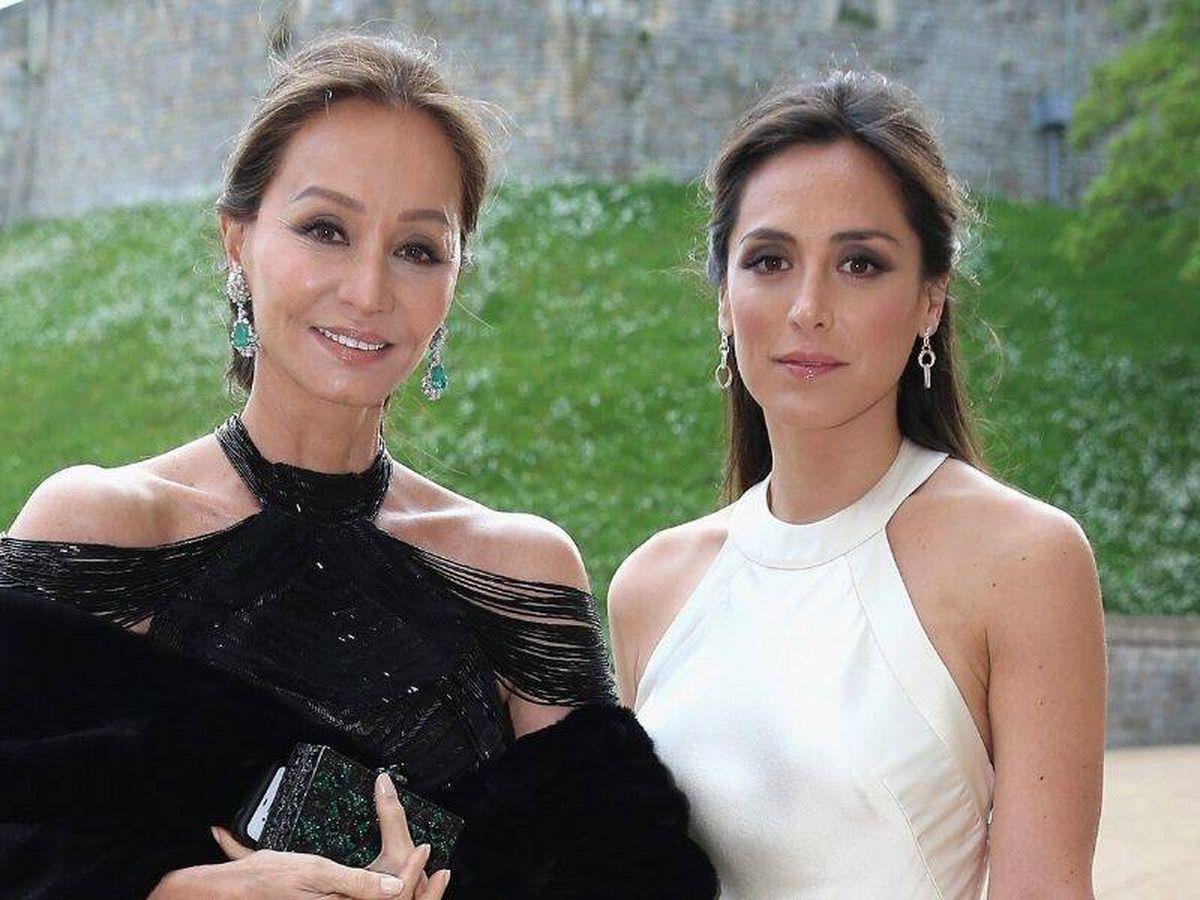 Foto: Isabel Preysler y Tamara Falcó en 2014. (Cordon Press)