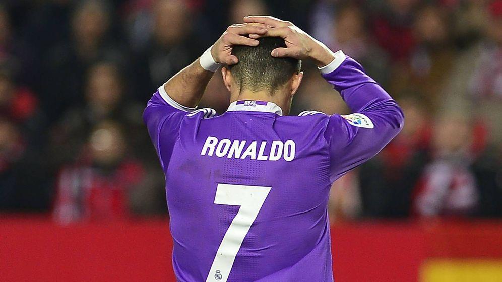 Foto: Cristiano Ronaldo en la final de Cardiff. (AFP)