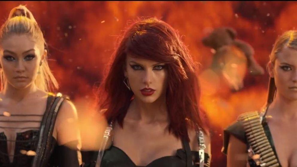 Taylor Swift, una guerrera pelirroja y muy sexy en 'Bad Blood'