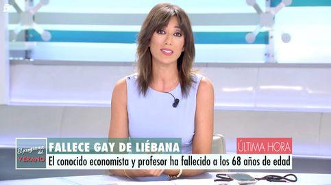 Patricia Pardo y Joaquín Prat, afectados por la muerte de José María Gay de Liébana