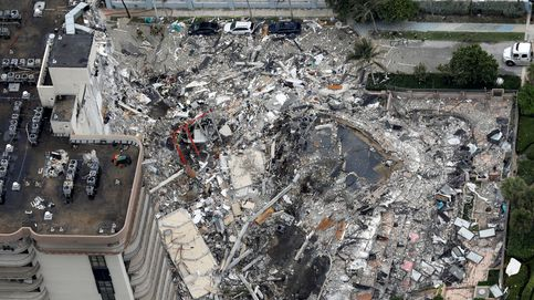 Miami paraliza la búsqueda de víctimas en el edificio colapsado por temor a más derrumbes
