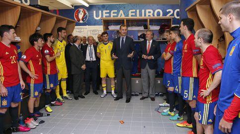 Felipe VI: El fútbol español está por las nubes, en su mejor momento