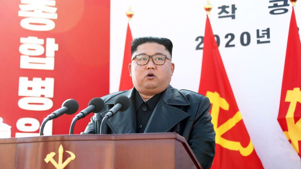 Foto: El líder norcoreano, Kim Jong-un, en una foto de archivo. (EFE)