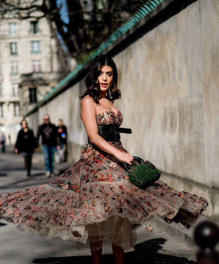 Foto: Dulceida en la Semana de la Moda de París. (Cordon Press)