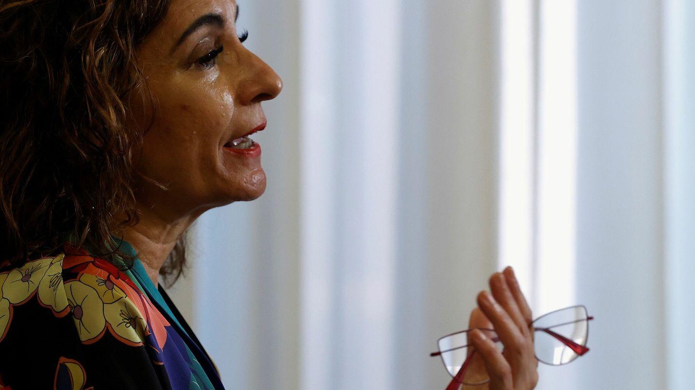 La ministra de Hacienda, María Jesús Montero. (EFE)