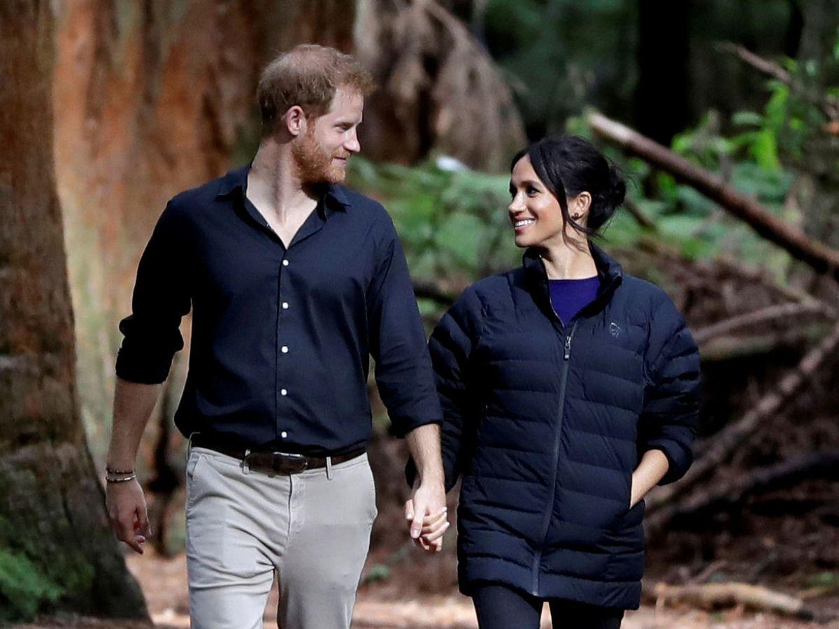 Foto: Harry y Meghan, durante su viaje a Nueva Zelanda en 2018. (Reuters)
