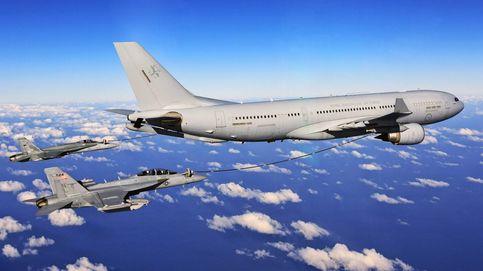 Cirugía aeronáutica en Getafe: así se convierte un A330 en una enorme cisterna militar