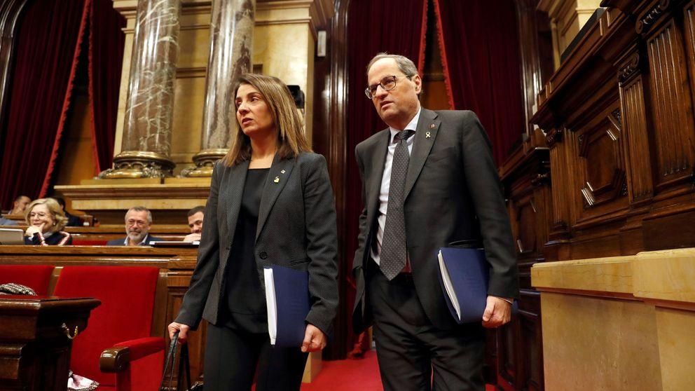 Torra defiende en el Parlament el derecho de protesta horas antes del Clásico