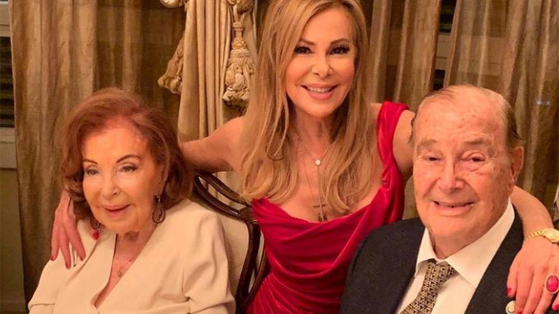 La agridulce felicitación de Ana Obregón a su padre en su 95 cumpleaños