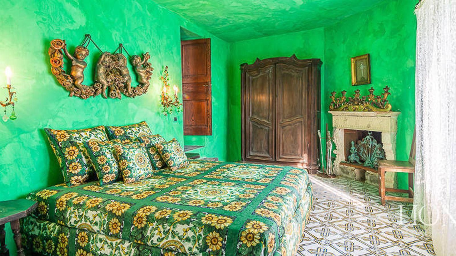 Foto: Dormitorio de la villa de D&G. (Foto de Lionard Luxury Real Estate)