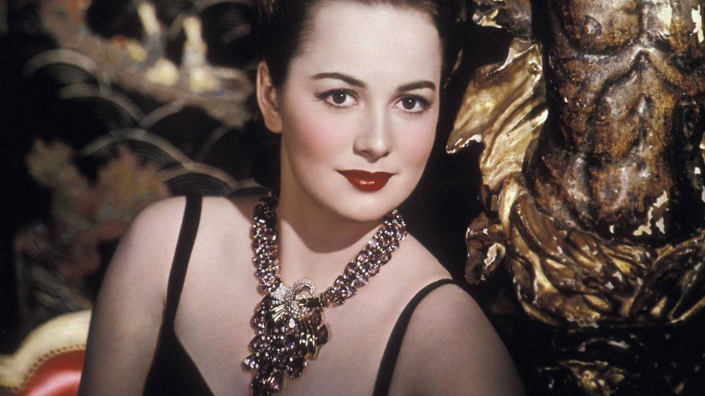 Foto: Olivia de Havilland en una imagen de estudio. (Cordon Press)