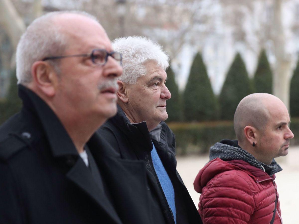 Foto: Investigados por homenaje a presos etarras. (EFE)