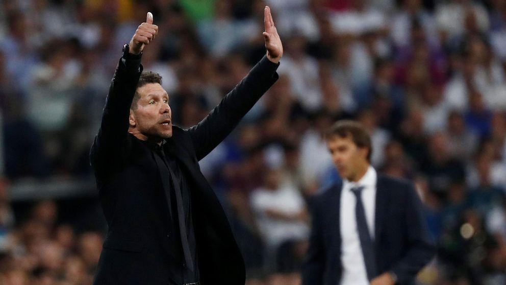 Simeone, ya no cuela: el Atleti come en la mesa de Barça y Madrid (y con VAR)