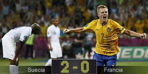Suecia pone el picante a un partido donde Francia no hizo nada para evitar a España