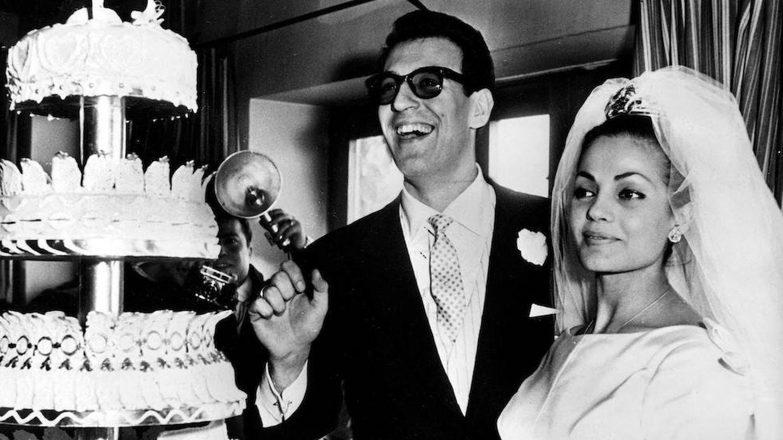 Imagen de la boda de Carmen Sevilla y Augusto Algueró. (Getty)