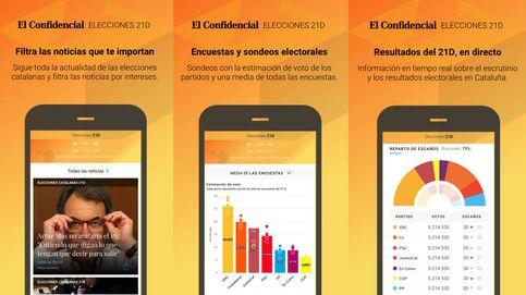 Una 'app' para seguir la campaña, los resultados y los pactos en Cataluña