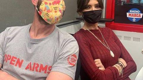 Sara Carbonero y Dani Rovira comparten sentimientos en otra sesión de radio