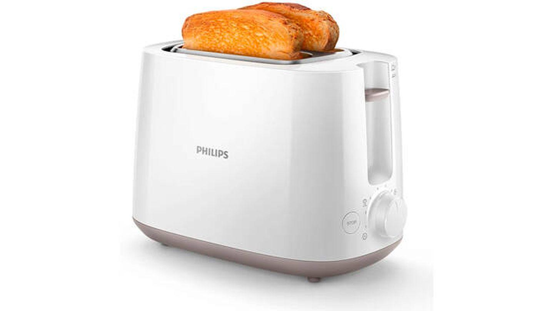 Tostadora Philips con ocho ajustes de tostado