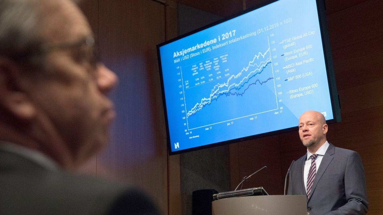 Foto: El primer ejecutivo de Norges Bank, Yngve Slyngstad.