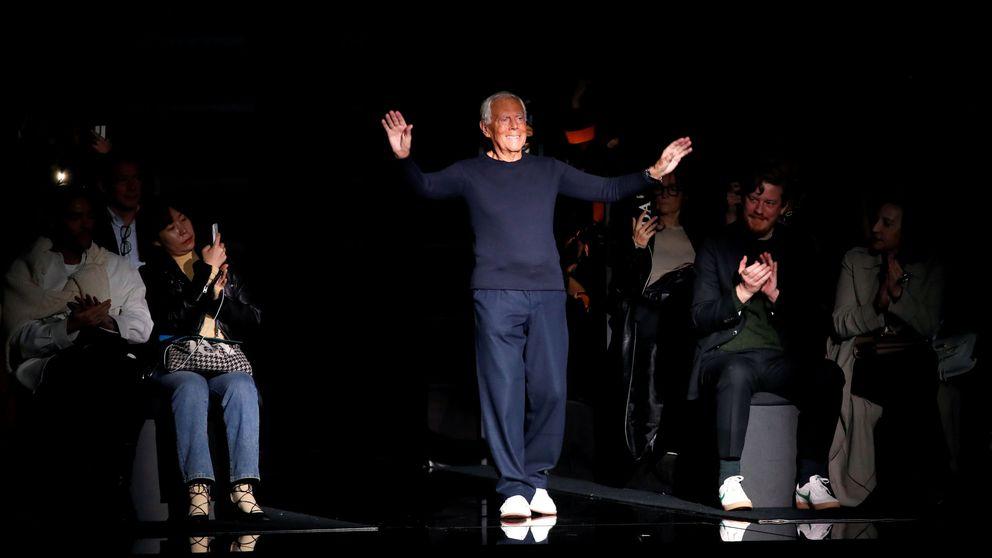 París y Milán cambian el calendario de la moda, pero Armani da un giro más