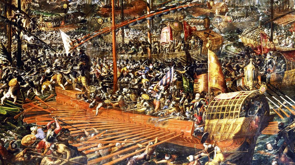 Infierno en Lepanto, la batalla naval más sangrienta de la historia