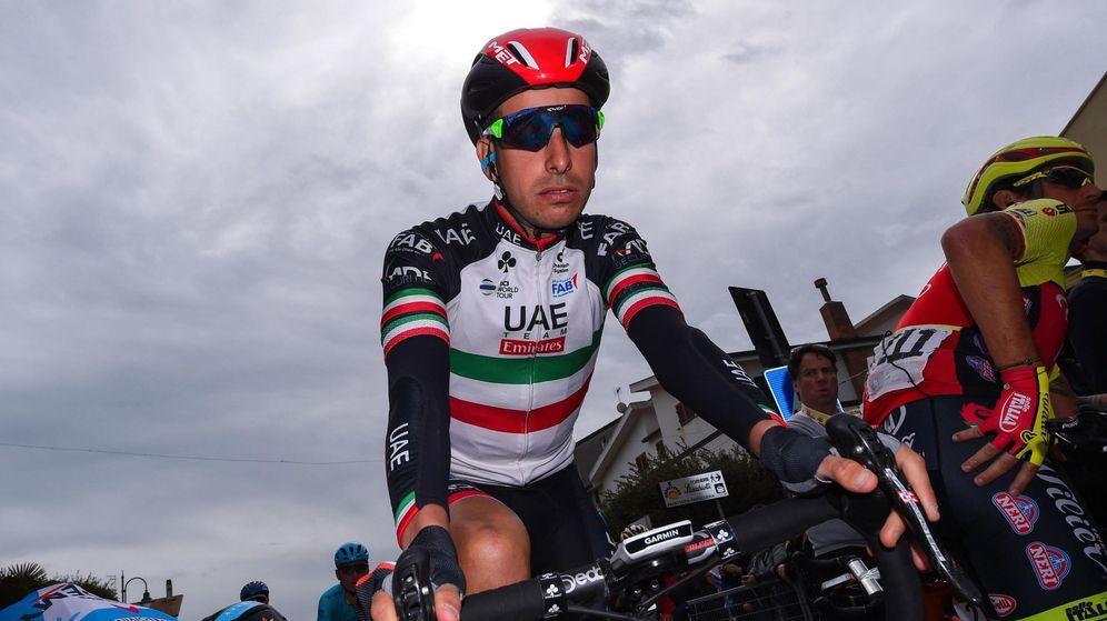 Foto: El italiano Fabio Aru, un ejemplo de perseverancia.
