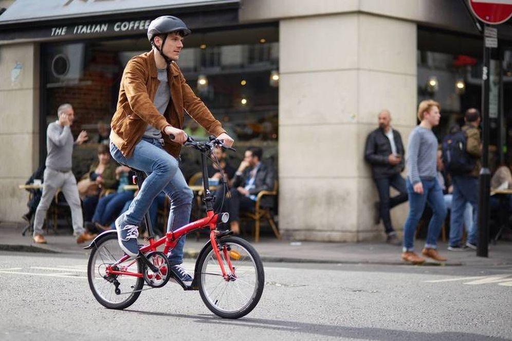 Foto: Una de las bicicletas plegables de Decathlon (Foto: Decathlon)