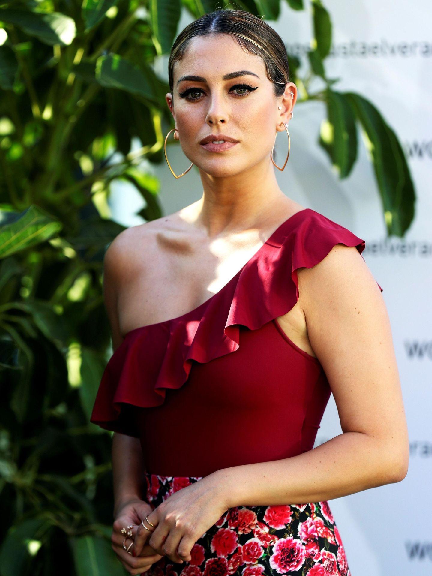 La actriz Blanca Suárez con bañador de Women'Secret a modo de top. (EFE)