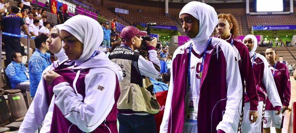 La selección femenina de básket de Qatar se niega a jugar por culpa del 'hijab'