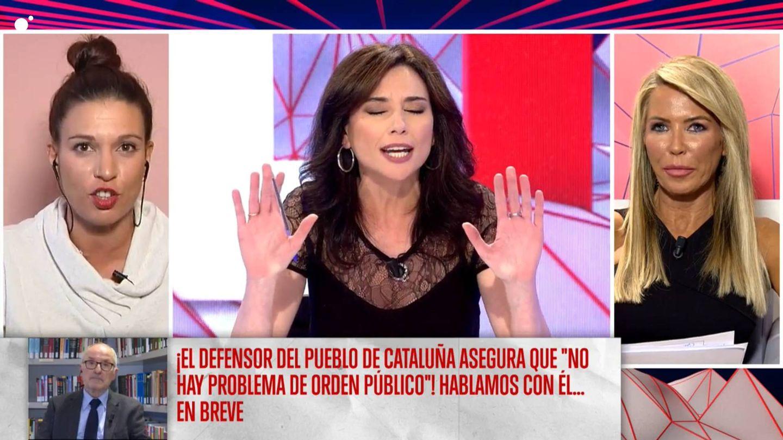 Marta Flich y Beatriz Talegón, en 'Todo es mentira'. (Cuatro)