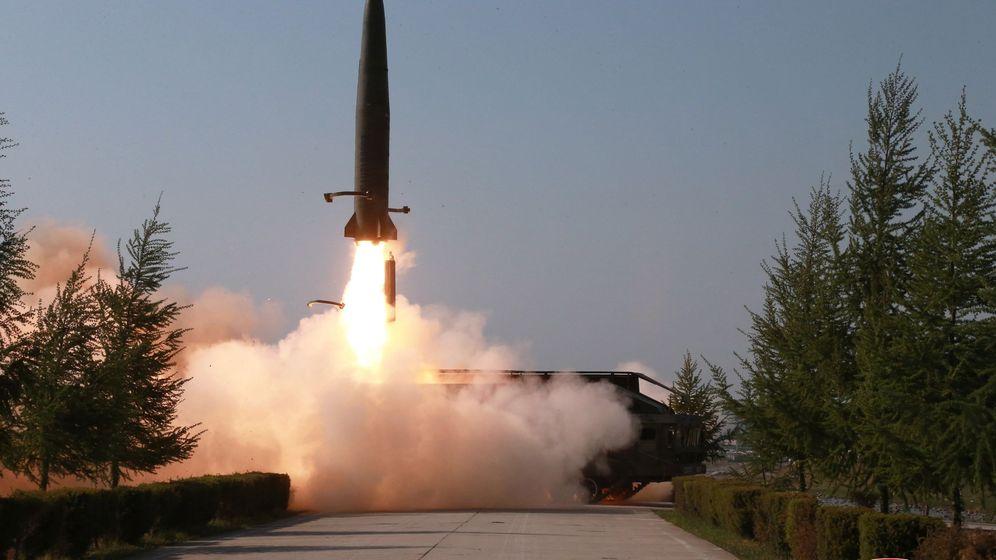 Foto: Lanzamiento de un misil norcoreano el pasado 10 de mayo.