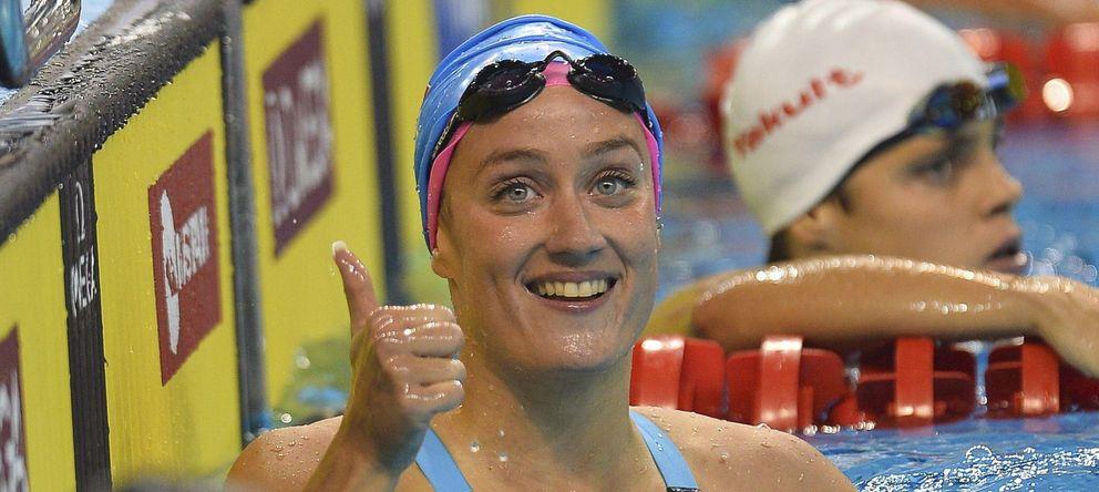 Foto: La nadadora española mantiene su gran estado de forma (EFE)