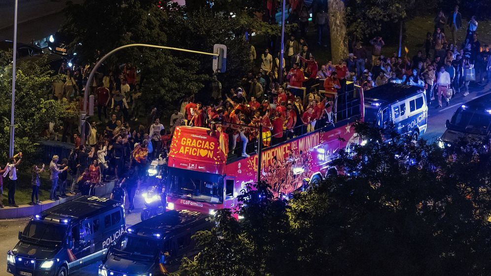 Foto: Las imágenes de la celebración de la Selección española de baloncesto