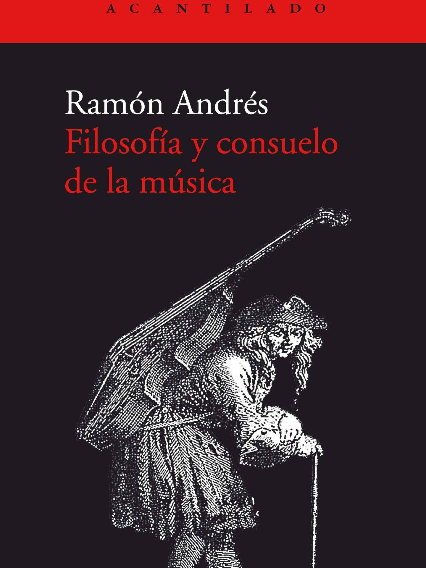 'Filosofía y consuelo de la música'.